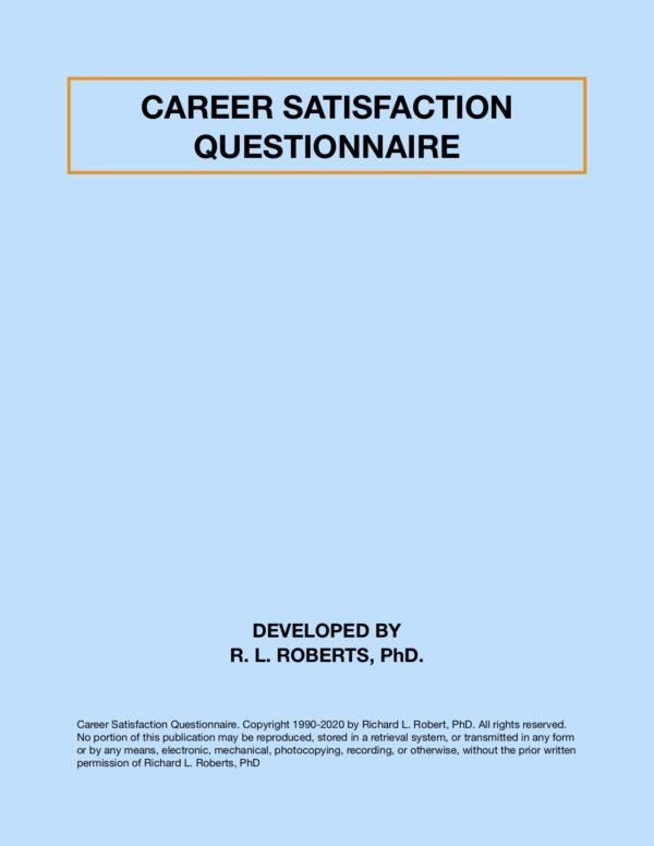 Career decision questionnaire
